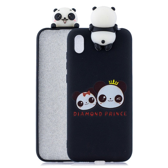 Honor 8S Huawei Y5 Cartoon Silicone Soft Phone Case Huawei Y5 2019 / J