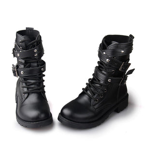 Women Motorcycle Boots