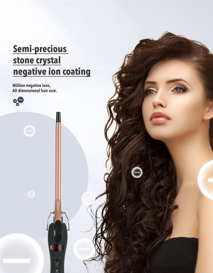 Professional 9mm curling iron Hair waver