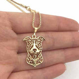 Pitbull Pendant Necklace