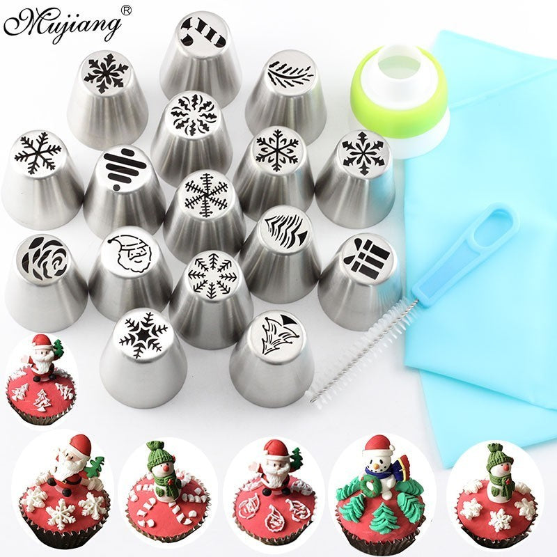Christmas Design Pastry Nozzles