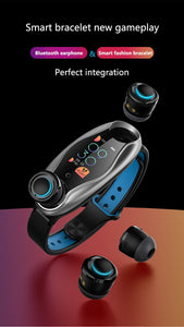 AI Smart Watch With Bluetooth Earphone