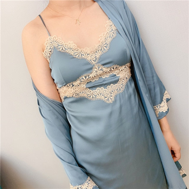 Women Robe & Gown Set yaqing2 / M