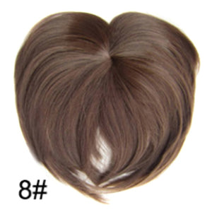 Silky Clip-On Hair Topper 8