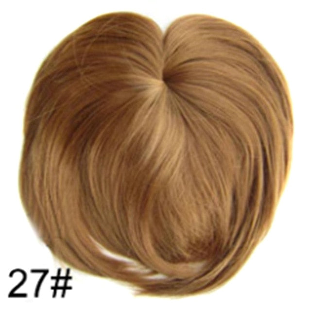 Silky Clip-On Hair Topper 27