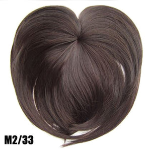 Silky Clip-On Hair Topper m2 33