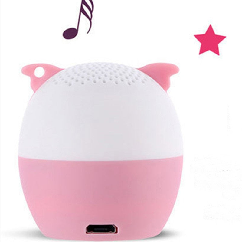 Cute Pet Wireless Mini Portable Bluetooth Speaker