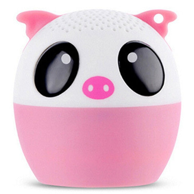 Cute Pet Wireless Mini Portable Bluetooth Speaker 5