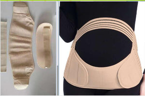 Women maternity back brace abdomen support belt