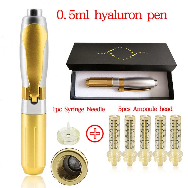 Hyaluronic Acid Pen High Pressure Hyaluron Injection 0.5pen 5head 1need 4