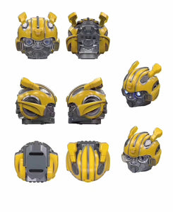 Transformer Bumblebee Wearable Helmet with Bluetooth Speaker