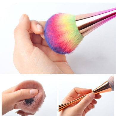 Large Soft Nail Dust Cleaning Brush