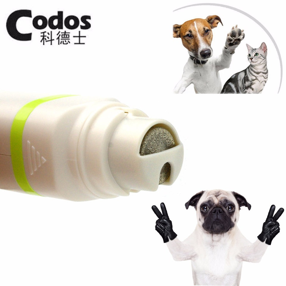 2 in 1 Pet Hair Trimmer and Nail Grinder for Cats and Dogs