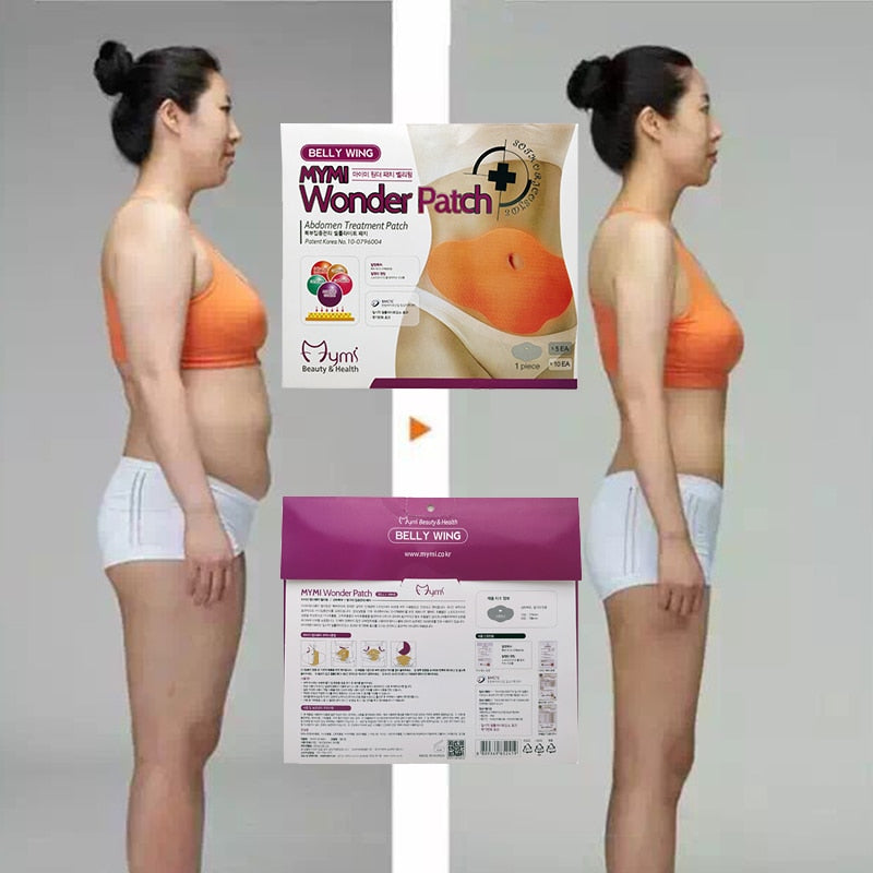 10Pcs Wonder Slimming Belly Patch