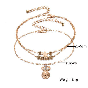 Ankle Chain Anklet Beaded Foot Jewelry