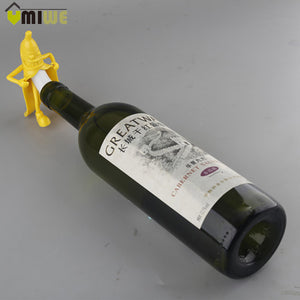 Funny Mr Banana Wine Stopper