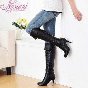 Over The Knee Boots - Foxy Beauty