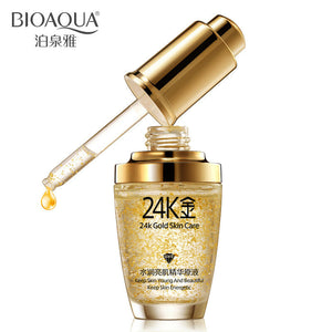 24K Gold Anti Wrinkle Oil BIOAQUA