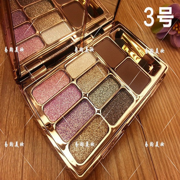 Shiny Eyeshadow Naked Palette No 3