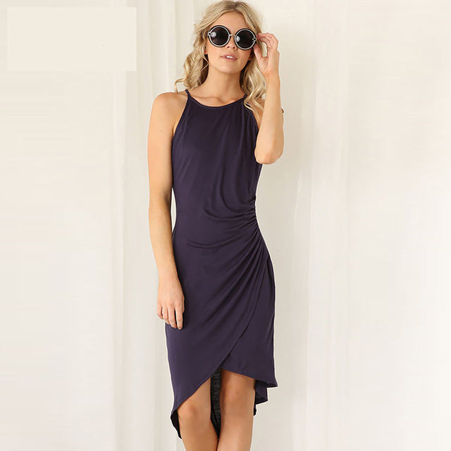Summer Dress NavyBlue / L