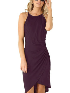 Summer Dress Purple / L