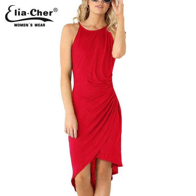 Summer Dress Red / L