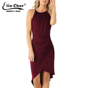 Summer Dress Wine / L