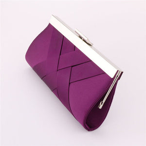 Clutch Evening Purse Purple