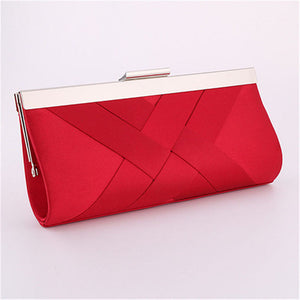 Clutch Evening Purse Red