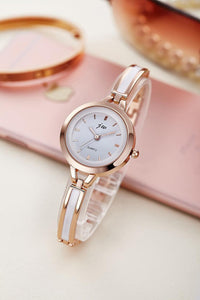 Luxury rhinestone ladies watch ROSE GOLD 3