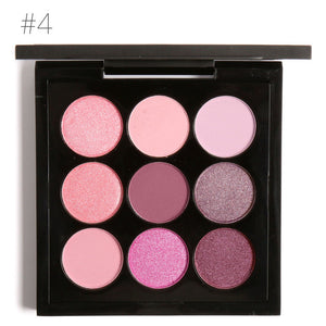 FOCALLURE 9 Colors Earth Tone Eyeshadow Palette 4 / China