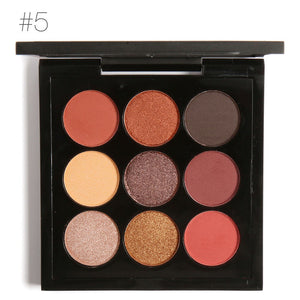 FOCALLURE 9 Colors Earth Tone Eyeshadow Palette 5 / China