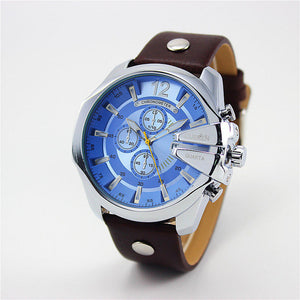 Curren Retro Watch silver blue