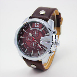 Curren Retro Watch silver brown