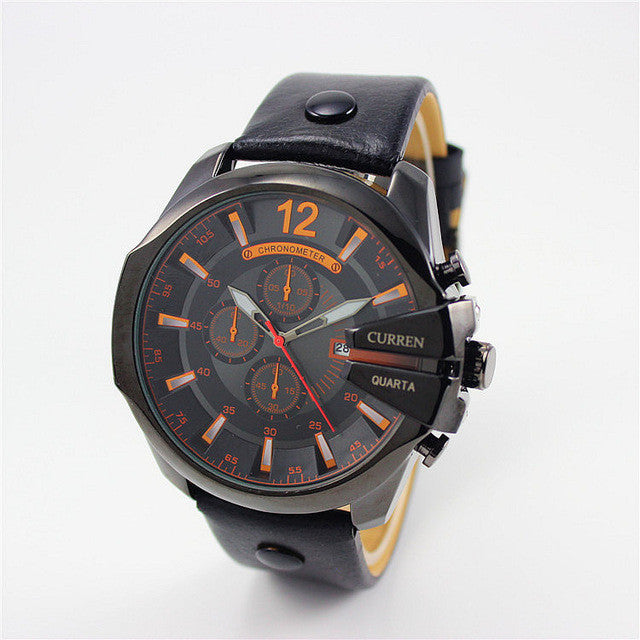 Curren Retro Watch black black