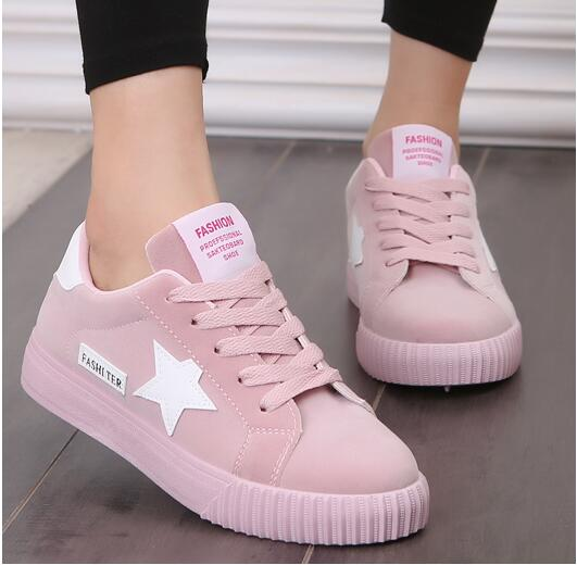 Eva Soles Platform Shoes Pink / 5