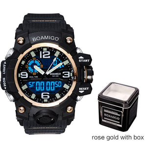 BOAMIGO Mens Sports Watch
