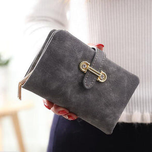 Soft Matte Suede Purse - 7 colors to choose from gray