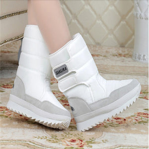 Women Snow Boots White / 5.5