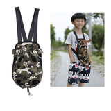 Pet Carrier Dog Front Chest Backpack Camouflage Canvas / S