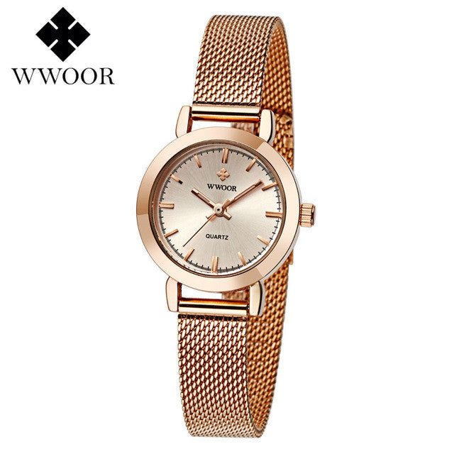 WOOR Women's Watch Rose Gold