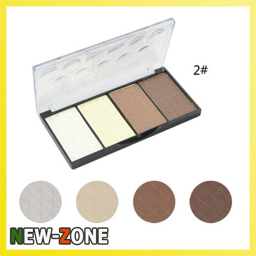 4 Colors Matte Bronzer Highlighter 02