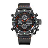 Multifunction Digital Quartz Analog Sport Watches for Men Waterproof Military Army Style B O B
