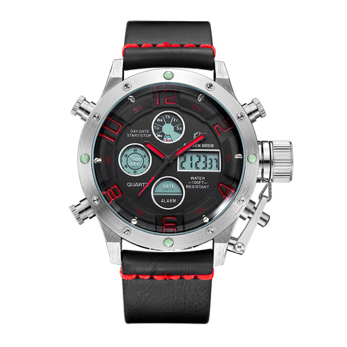 Multifunction Digital Quartz Analog Sport Watches for Men Waterproof Military Army Style S R B