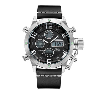 Multifunction Digital Quartz Analog Sport Watches for Men Waterproof Military Army Style S W B
