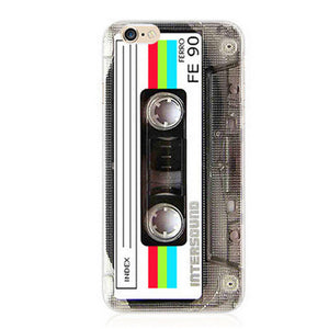 Funny Designs Retro iPhone Cover NO4 / For iPhone 5 5S SE