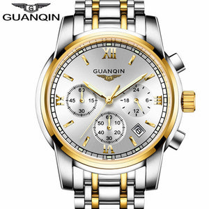 GUANQIN Watch Gold White
