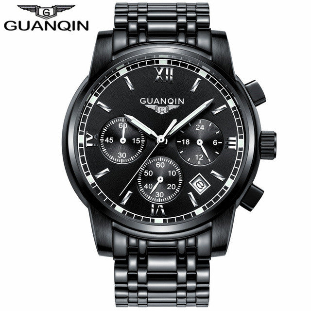 GUANQIN Watch All Black