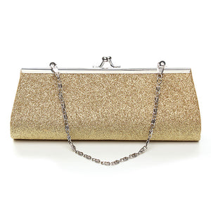 Chain Evening Glitter Bag - Foxy Beauty