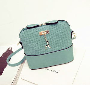 Shoulder or Cross-Body Mini Deer Bag Handbag mint green / (20cm<Max Length<30cm)